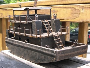 River Push Boat